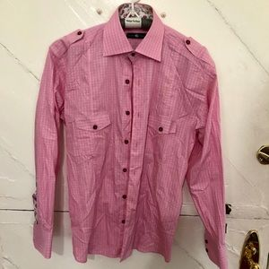 Stone Rose Button Down Shirt